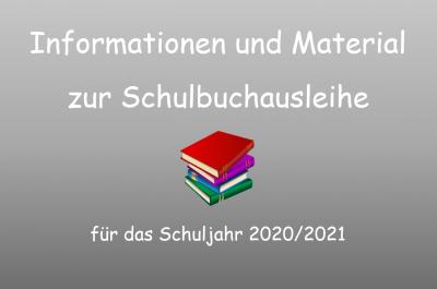 Schulbuchausleihe - Überweisung des Leihentgeldes bis 01.06.2020
