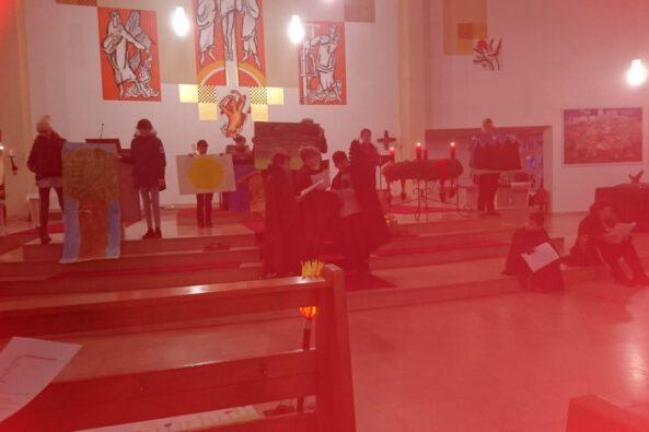 Weihnachtsgottesdienst der Bisttalschule Wadgassen