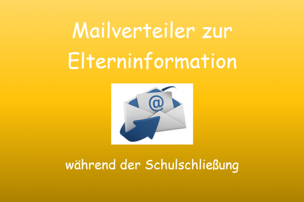 Mailverteiler für Elterninformation