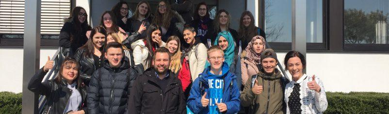 Besuch der ALDI SÜD Regionalgesellschaft Bous